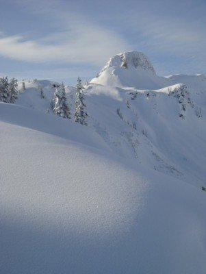 Mt Baker ist ein wahres Winterwunderland.