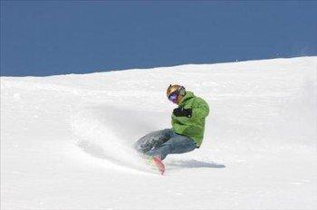 Ziehe deine Spuren in den Schnee.
