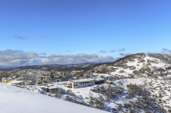 Hotham Village liegt auf einer Höhe von 1.750 Metern.