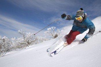 Das Skigebiet ist vor allem für sportliche Skifahrer geeignet.