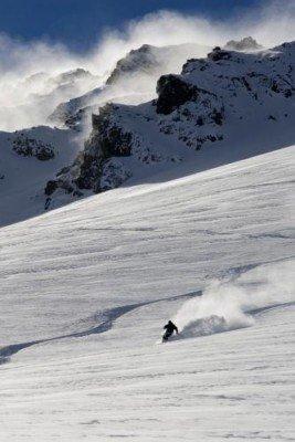 Tiefschneefahrer sind am Mt Olympus gut aufgehoben