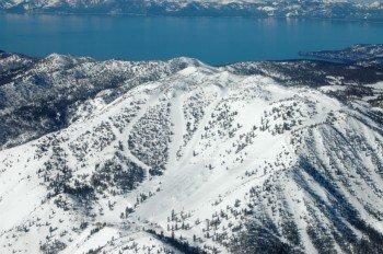 Mt Rose liegt in direkter Nähe des Lake Tahoe.