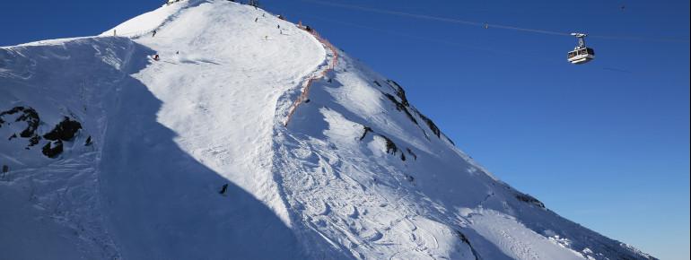 Steile Piste - Schilthorn