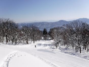 Schnee liegt im Winter hier mehr als genug.