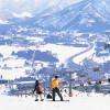 Das Skigebiet Naeba (Mt. Naeba) befindet sich bei Yuzawa in Japan.