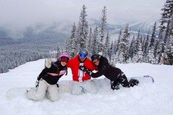 Hier ist Schneespaß für die ganze Familie garantiert.