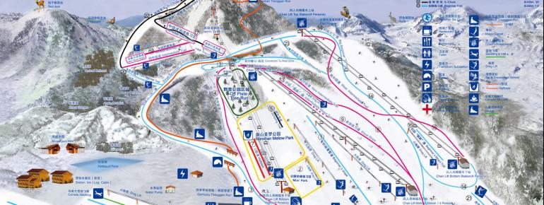 Pistenplan Nanshan