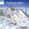 Pistenplan Skigebiet Nanshan