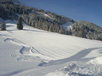 Hier erwarten die Wintersportler Sonne pur und bestens präparierte Pisten.