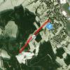 Lageplan des Skilifts in Obdach.