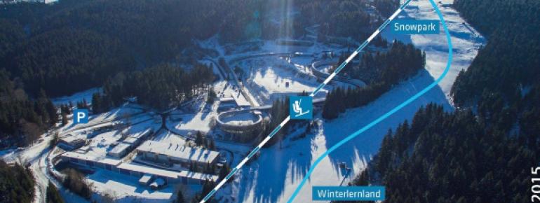Pistenplan Oberhof am Rennsteig - Fallbachhang