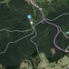 Übersicht Skilift Oberlehen - Häusern
