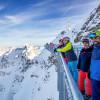 Der Nordwandsteig führt um den Gipfel des Nebelhorns herum.