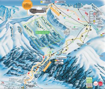 Pistenplan Skigebiet Oberstdorf-Nebelhorn