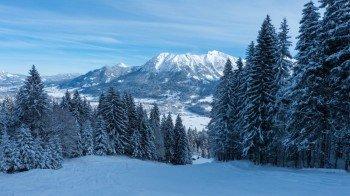 Die Pisten am Höllwies-Lift eignen sich für geübte Skifahrer.