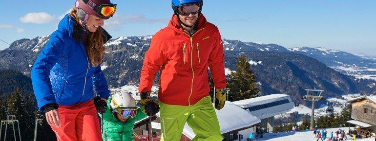 Kleine Wintersportler sind in der Söllis Winterwelt gut aufgehoben.