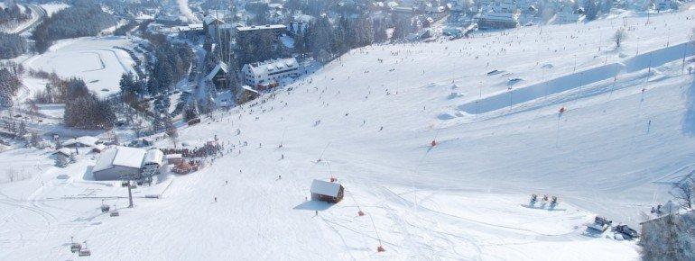 Besonders schön sind die Talabfahrten nach Oberwiesenthal.