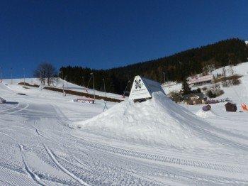 Auch die Präparierung des Funparks wird in Oberwiesenthal nicht vernachlässigt