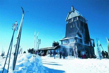 Blick auf den Skihang an der Mühlenwiese