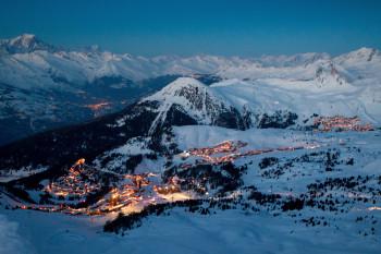 La Plagne liegt auf rund 2000 Metern Seehöhe.