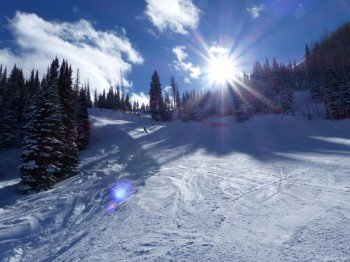 Park City ist das größte Skigebiet Nordamerikas.