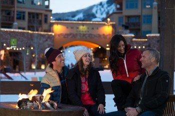 Am Abend gut feiern gehen oder gemütlich am Feier entspannen? In Park City ist beides möglich.