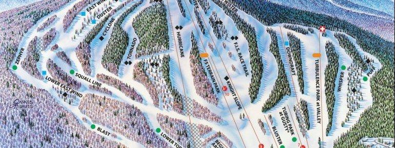 Pistenplan Pats Peak Ski Area