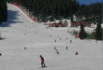 Skifahren und Snowboarden auf über 13 Kilometern.