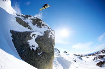Das Skigebiet erstreckt sich über sieben Berggipfel.