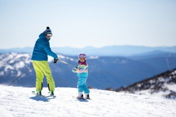 Perisher Blue ist das größte Skigebiet Australiens