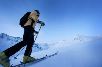 Der Pitztaler Gletscher ist ein Paradies für Skitourengeher.