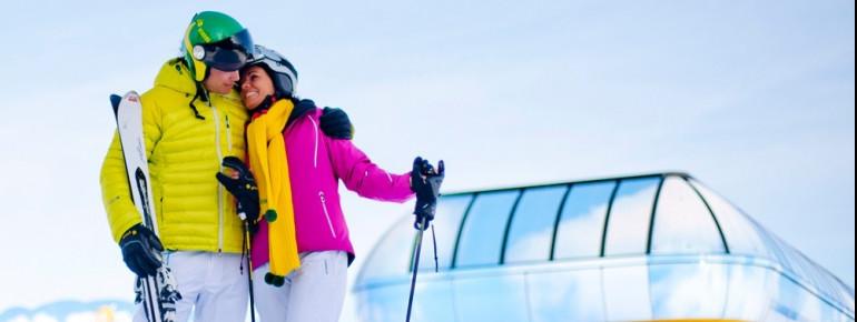 Moderne Lifte und bestens präparierte Abfahrten prägen das Skigebiet Planai.