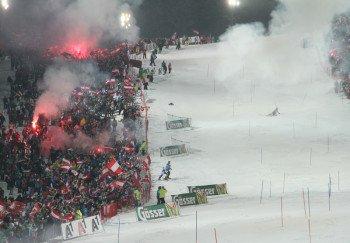 50.000 Zuschauer kommen jedes Jahr zum Nightrace in Schladming.