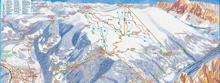 Pistenplan Plose Brixen