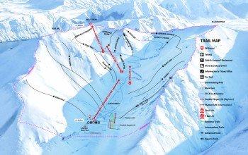 Pistenplan Skigebiet Porters