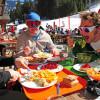 99 Bergrestaurants sorgen für das leibliche Wohl der Wintersportfans im französisch-schweizerischen Skigebiet Portes du Soleil.