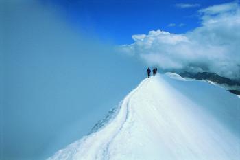 Prägraten liegt am Fuße des Großvenedigers (3.666 Meter).
