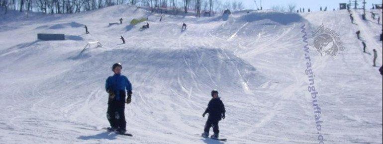 Pistenplan Raging Buffalo Snowboard Park