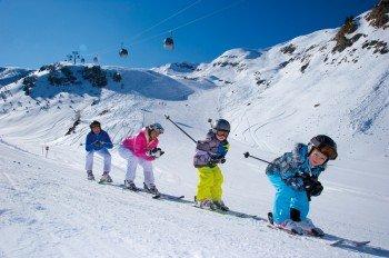 Familien-Skiurlaub im Raurisertal