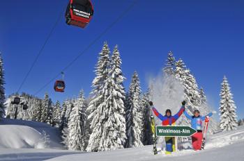 Skigebiet Winklmoos-Alm bei Reit im Winkl