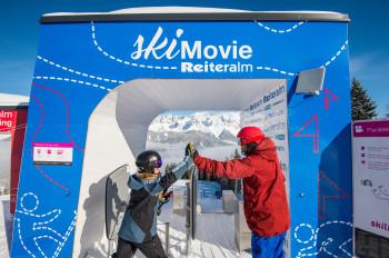 SkiMovie Reiteralm - permanente Parallel-Rennstreck mit Video