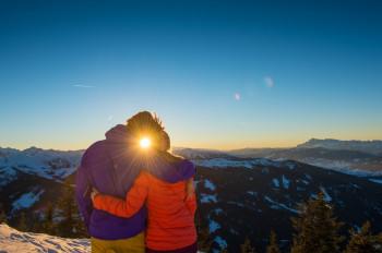 32 Pistenkilomter gibt es im Skigebiet Reiteralm zu entdecken.