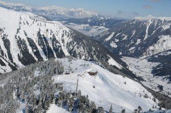 Blick über die Ski Riesneralm