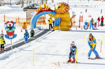 Die erste österreichische Kinderskischaukel