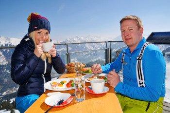 Täglich Höhen-Frühstück auf 1.820 m!