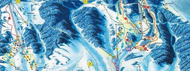 Pistenplan Rokytnice nad Jizerou