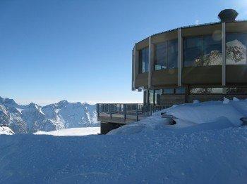 Drehrestaurant im Skigebiet Saas-Fee