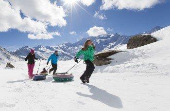 Drei Rodelbahnen versprechen auch nach dem Skifahren eine Menge Spaß