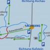 Insgesamt sieben Lifte befinden sich in Sachrang (Oberbayern).