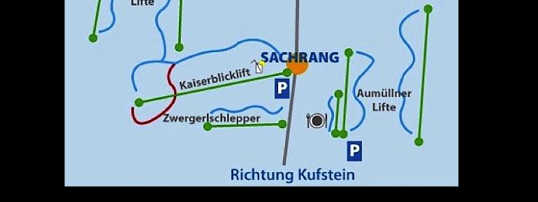 Pistenplan Sachrang